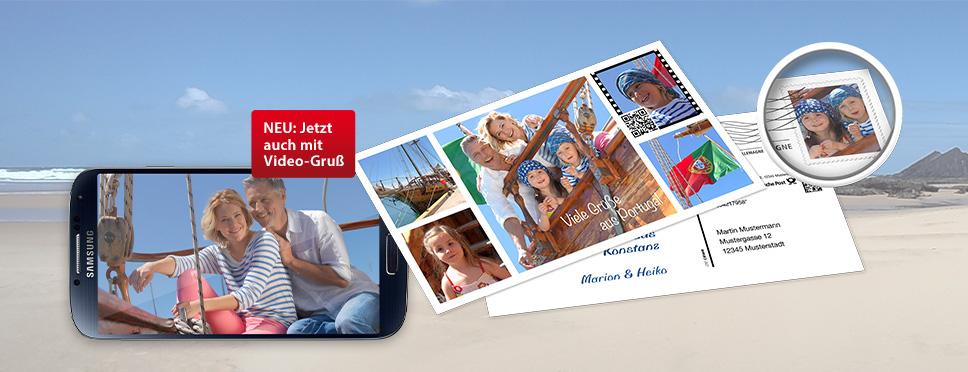 Verschicken Sie Ihre Urlaubsgrüße als echte Postkarten