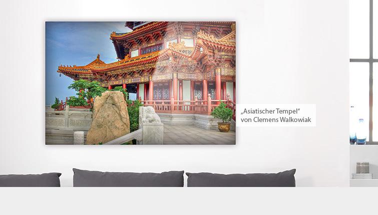Asiatischer Tempel