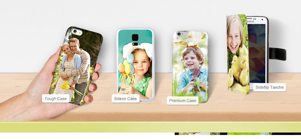 Handyhüllen mit dem eigenen Foto