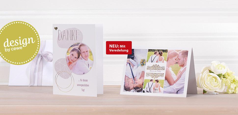 Hochzeitskarten Selbst Gestalten Cewe Fotoservice