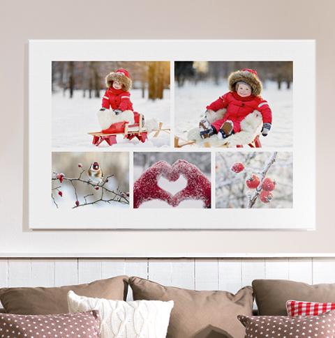 Cewe fotoservice fotoprodukte gestalten bestellen - Fotoleinwand collage gestalten ...