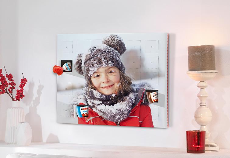 foto adventskalender selbst gestalten cewe fotoservice. Black Bedroom Furniture Sets. Home Design Ideas