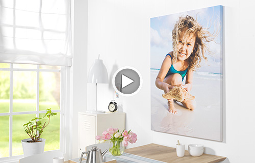 foto auf leinwand drucken und bestellen cewe fotoservice. Black Bedroom Furniture Sets. Home Design Ideas
