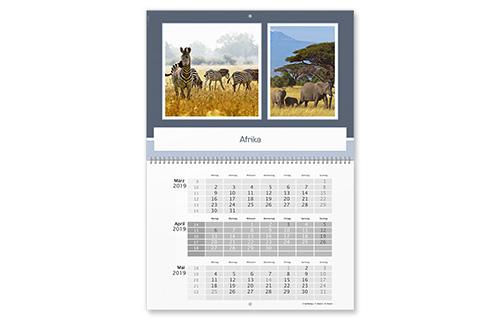 3-Montaskalender 2016 Selbst Gestalten - Cewe Kalender