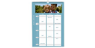 Familienkalender A3